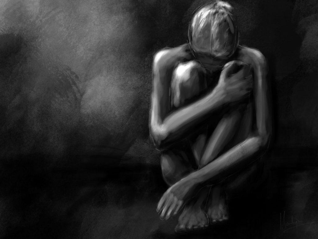 Sadness - Schets 2